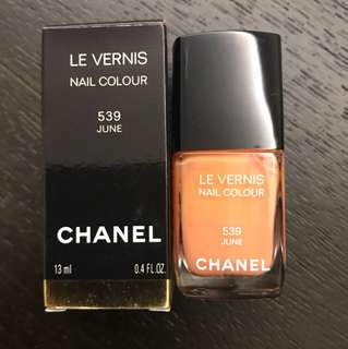 Chanel Nail Colour 539 June