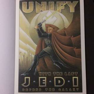 "Poster # 8 From ""Star Wars A Poster Collection"""