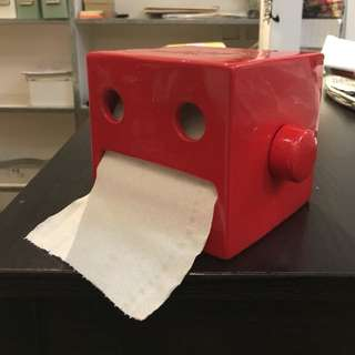 Robot and roll paper holder (ceramic )