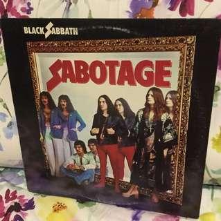 Vinyl Lp - black Sabbath - sabotage