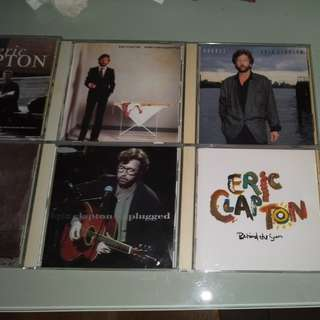 Eric Clapton Clearance of Old CD