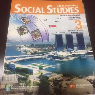 Upper Secondary Social Studies 3 NA Activity book
