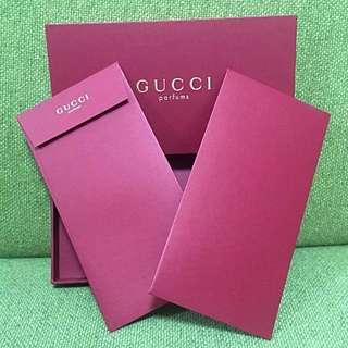 Gucci envelopes set 利是 禮是 封8個