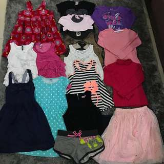 7y/8y Preloved Baby Girl Clothes
