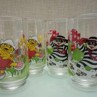 麥當奴旅遊玻璃杯4隻