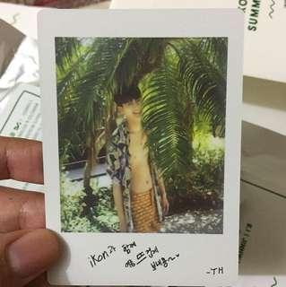 iKON-Sexy yun's polaroid