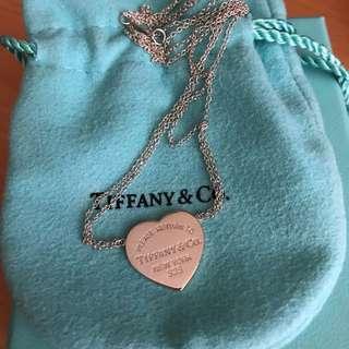 """Tiffany & Co """"Return to Tiffany"""" Necklace"""