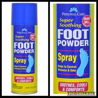Personal Care Foot Powder Spray
