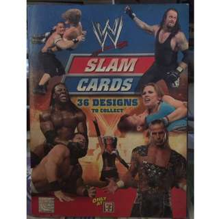 WWE Slam Cards Limited Collection