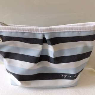 AGNES B make up bag