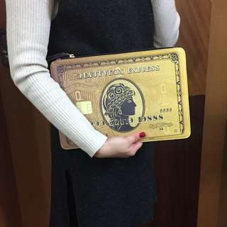 Credit card evening pouch by blogger QQ