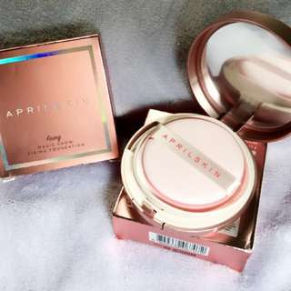 💯% Authentic April Skin Cushion (Pink) #23