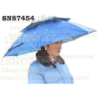 SN87454 For adult big umbrella hat (agriculture, fishing, trekking, sea, beach, garden,picnic,outdoor)