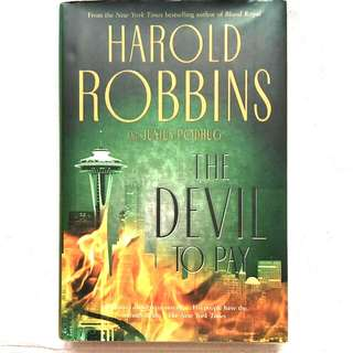 *HardCover*The Devil To Pay by Harold Robbins and Junius Podrug