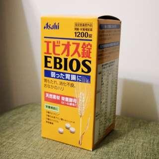 日本EBIOS營養酵母 (1200片)