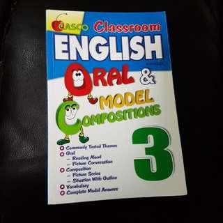 Quality Casco classroom oral & model composition. Creative Writing. Good phrase. p3