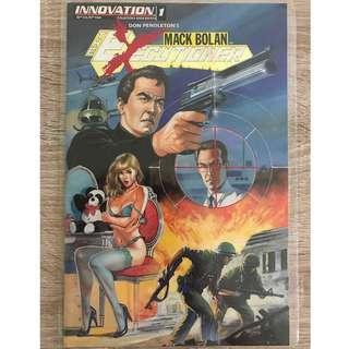MACK BOLAN: THE EXECUTIONER #1 (INNOVATION COMICS)