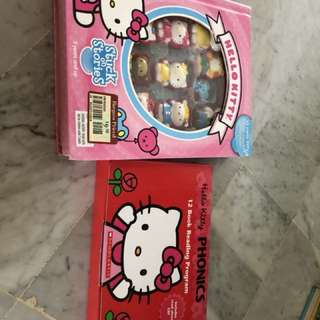 Hello Kitty stuck on stories & phonics series