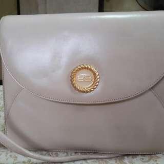 Balenciaga Genuine Leather Clutch Shoulder Bag