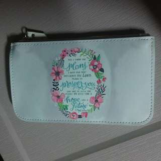 Bible verse pouch