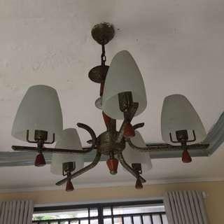 Lampu hias gantung, dijual krn mau pindah rumah