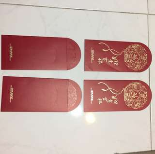 DHL - red packets