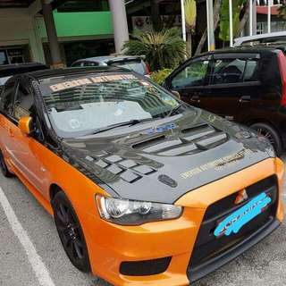 Mitsubishi Lancer GT SG with 10k sound system