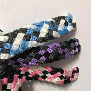 Colourful belt set