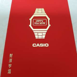 2018 Brand New Casio red Packets Or Ang pows collectors item (2 packs of 8 pcs  for $10 only)