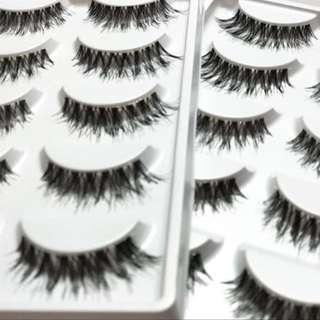 Fake Eyelashes $5 for 5 pairs!