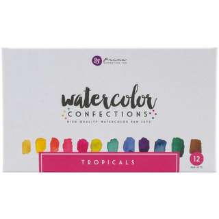 Prima Marketing Watercolor Confections- Tropicals