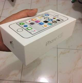 Box IPhone 5S Only
