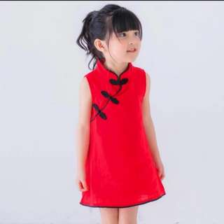 NEW CNY Dress Cheongsam Baby Girl toddler
