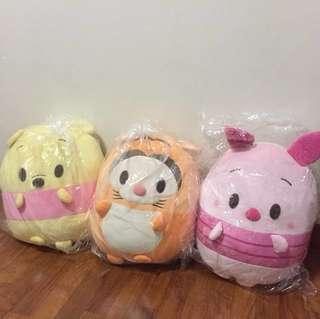 Disney Japan Winnie the Pooh Marshmallow Plush Toy