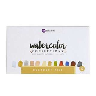 Prima Marketing Watercolor Confections- Decadent Pies