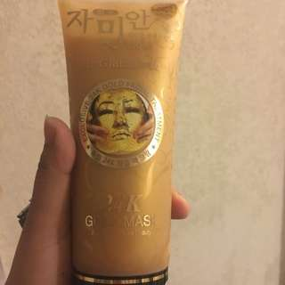 24kgold mask_made in korea