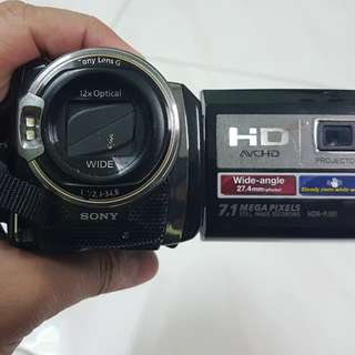 SONY HDR-PJ50 220Gb With Built In Projector