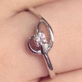🈹️18K金鑽石戒指 11份石 原價$6x x x 平售$1660 閃 白