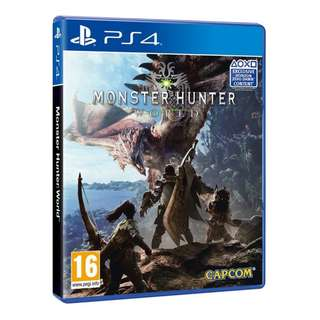 PS4 Monster Hunter World (Region 2) Online can play with Region 3