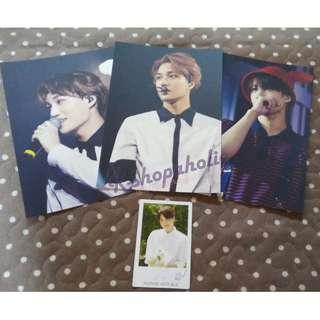 EXO Planet #2 The EXO'luXion DOT Official Postcard (Kai version)