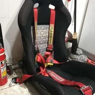 BRIDE Low Max Semi-Bucket Racing Car Seat
