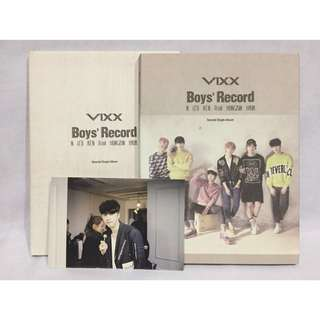 VIXX Boys' Record Album (Pre-loved)