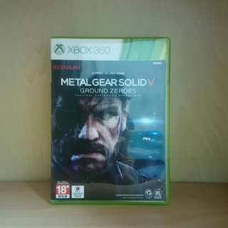 Metal Gear Solid V 5 Ground Zeros Xbox 360