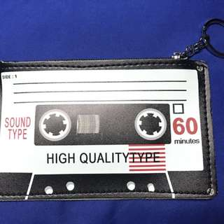Cassette Tape Vintage Coin Purse