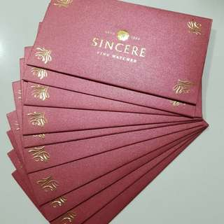 Sincere Watch Red packet