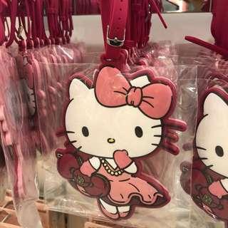 USS Hello Kitty Luggage Tags