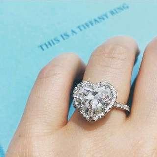 SPECIAL VALENTINE!!! Diamond Lovely Ring  ASLINYA LEBIH BERKILAU DARI FOTO