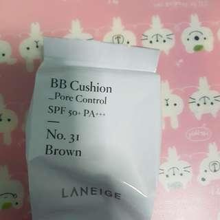 Laneige BB Cushion Pore Control No. 31 Brown Refill