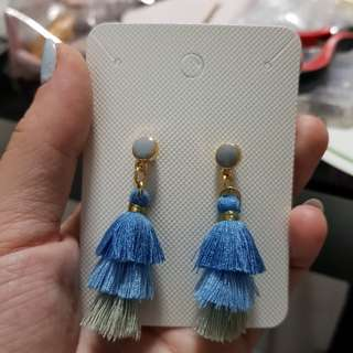 Tassel Earrings / Handmade Earrings