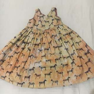 Safari Themed Reversible Dress